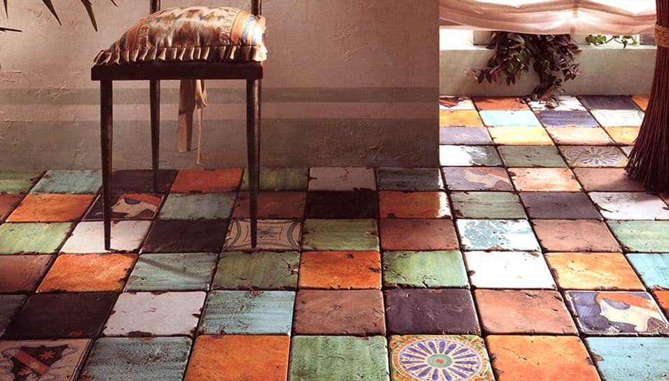 25 beautiful tile flooring ideas for living room kitchen for Eco floor