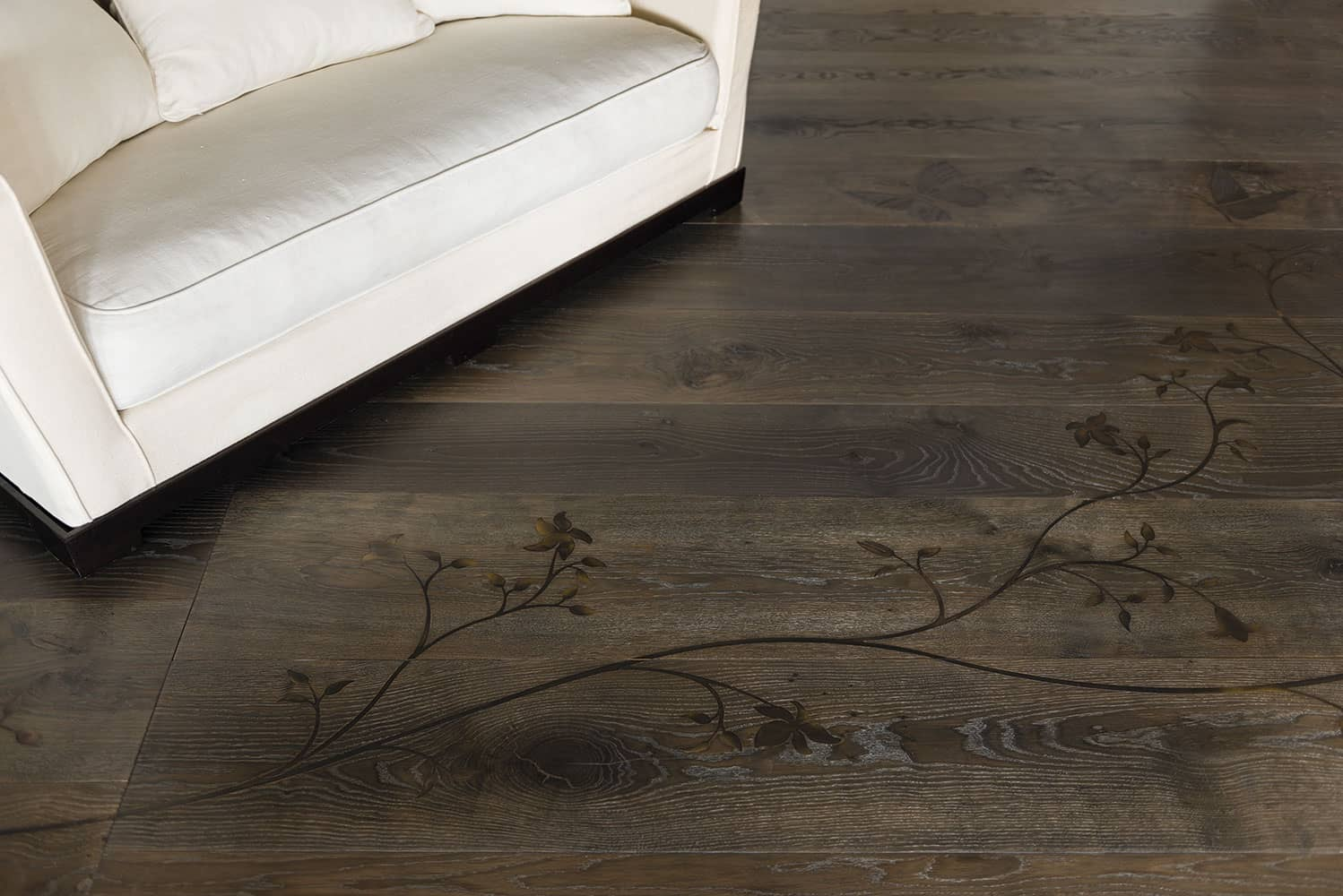 view in gallery bronze finish inlay wood flooring lemmajpg - Wood Floor Design Ideas