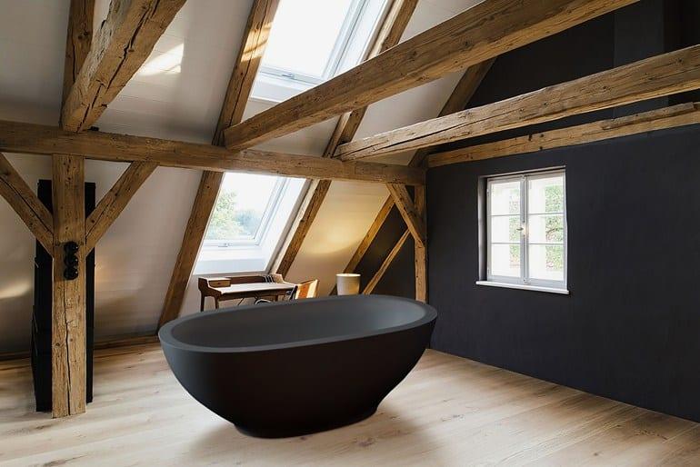 View in gallery karolina-black-bathtub-aquastone.jpg & Black Bathtubs for Modern Bathroom Ideas with Freestanding Installation