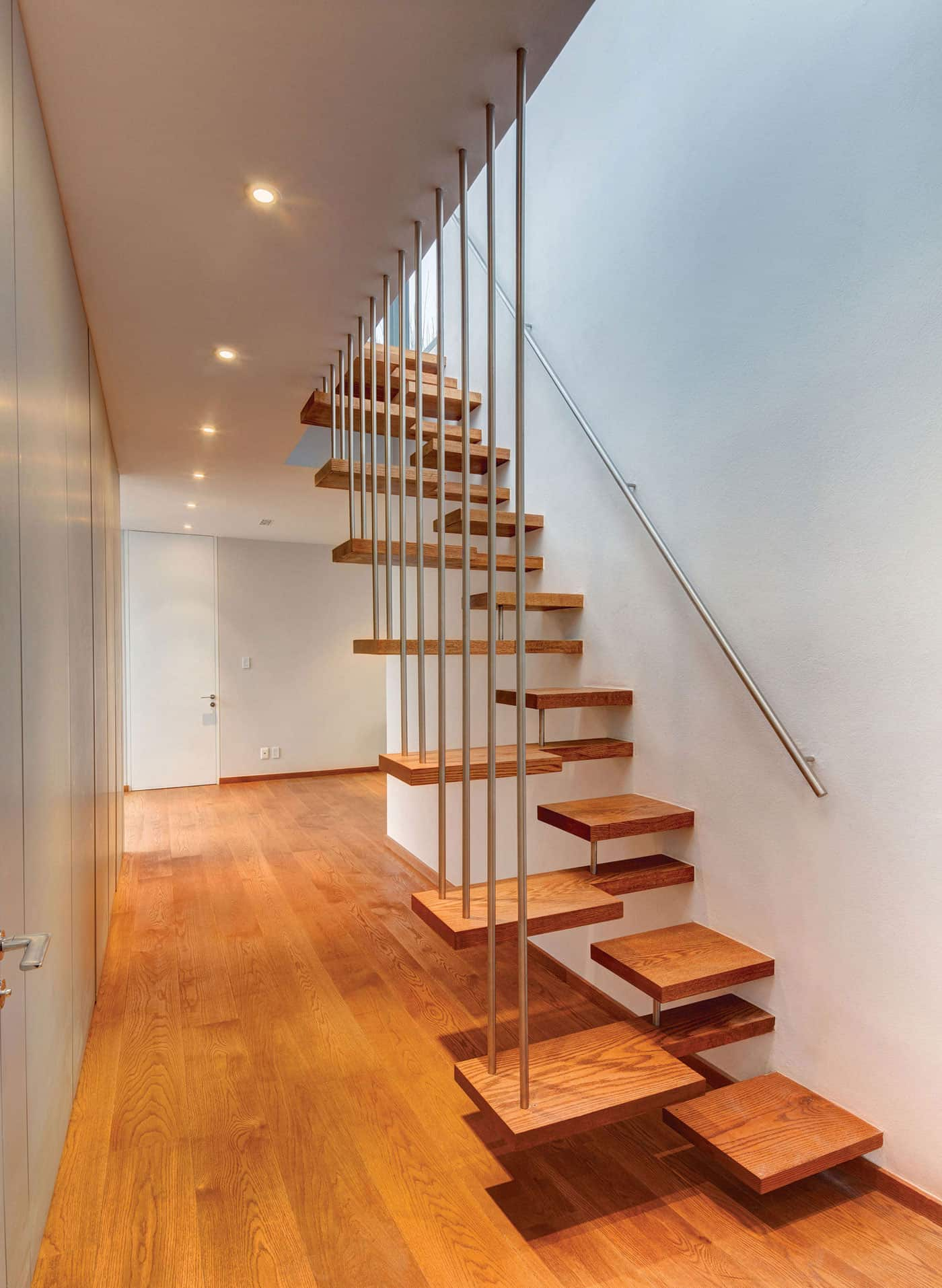 View In Gallery Unusual Stairs Floating Design