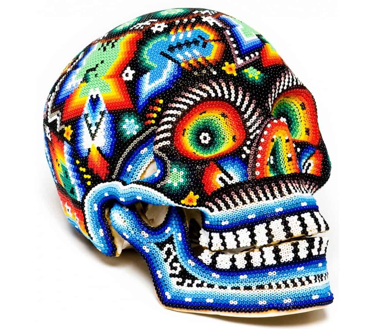 Day of the dead decor its the new halloween view in gallery day of the dead decor huichole skull thumb 630xauto 57081 day of the dead decor dailygadgetfo Choice Image