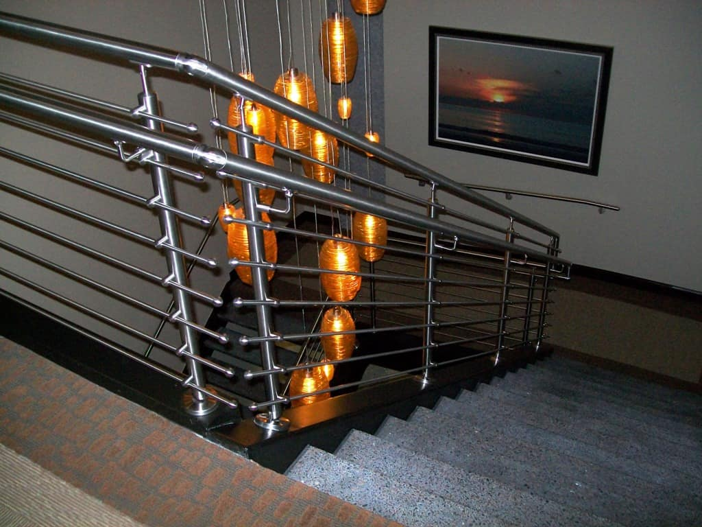 View In Gallery Unusual Unique Staircase Modern Home Glass Stainless Plus