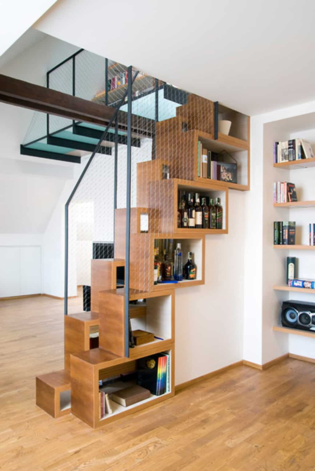 Exceptionnel View In Gallery Unusual Unique Staircase Modern Home Skinny Storage