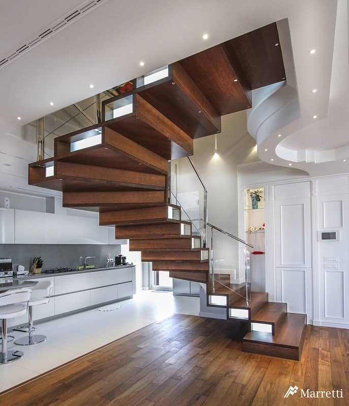 Wooden Staircases: Unique And Creative Staircase Designs For Modern Homes