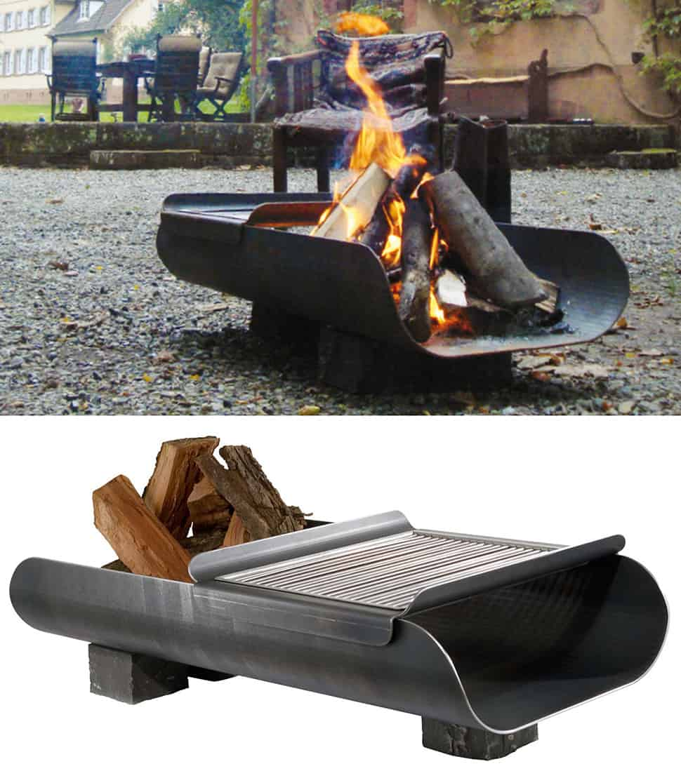 Great Bbq Pit Set Up For The Backyard Perfect Under The: 35 Metal Fire Pit Designs And Outdoor Setting Ideas