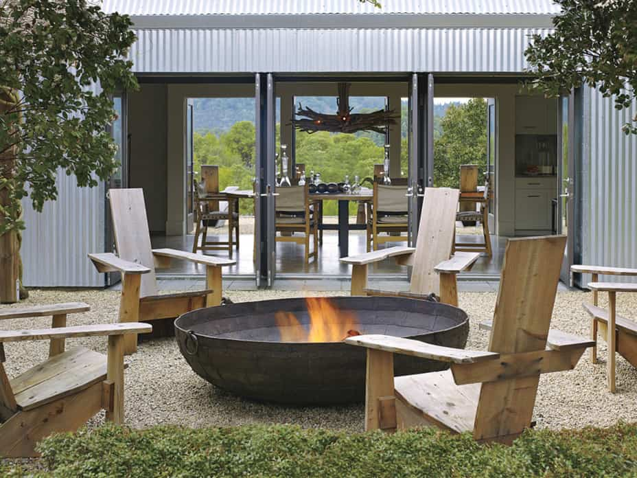35 Metal Fire Pit Designs and Outdoor Setting Ideas on Fire Pit Design  id=21085