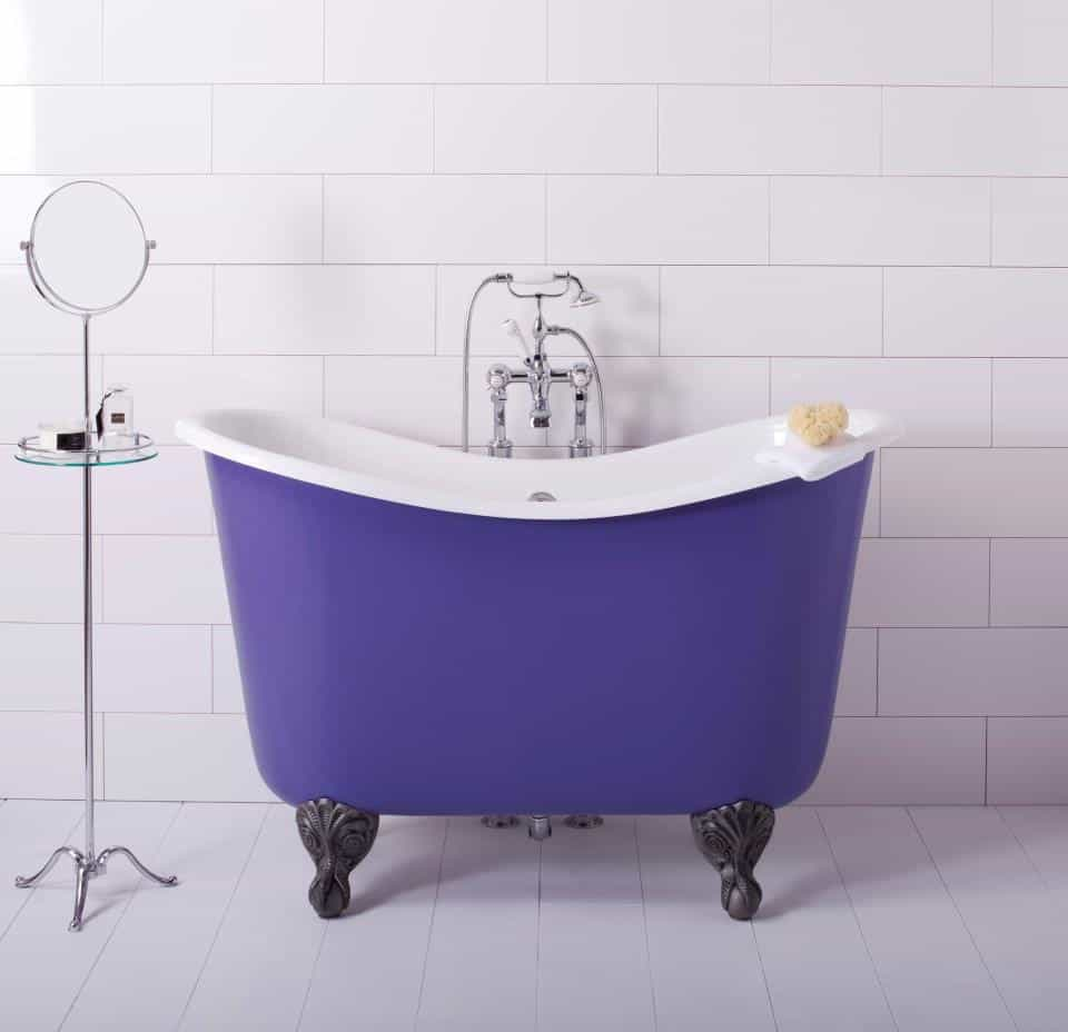 View In Gallery Mini Bathtubs Showers Albion Lavender 3