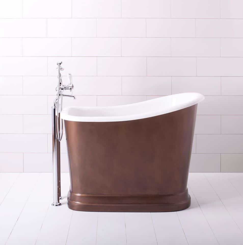 View In Gallery Mini Bathtubs Showers Albion Tubby Torre Brown
