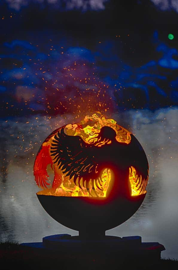 hidden-angel-metal-art-fire-pit-sphere-melissa-crisp-1.jpg