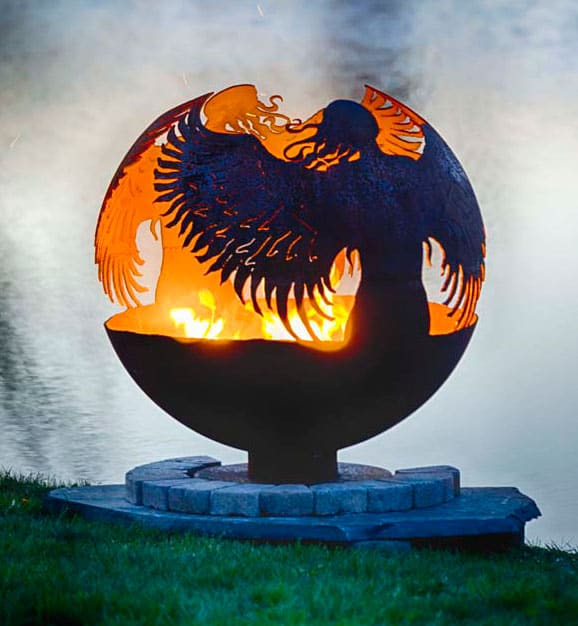 hidden-angel-metal-art-fire-pit-sphere-melissa-crisp.jpg