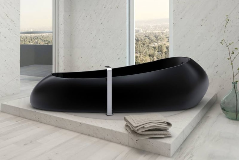 Delightful View In Gallery Modern Black Bathtub Space Ship Zaditaly Thumb 630xauto  57682 Black Bathtubs For Modern Bathroom Ideas With Part 28