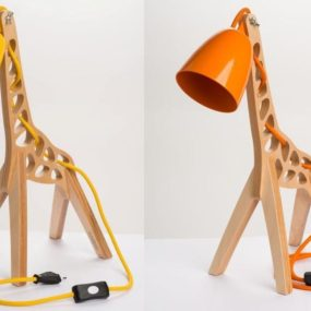 Whimsical Table Lamp by Leanter: Giraffe Inspired