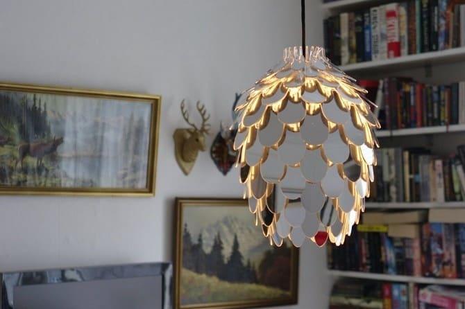 pinecone wooden pendant light scandinavian pendant lighting. view in gallery pinecone wooden pendant light scandinavian lighting c