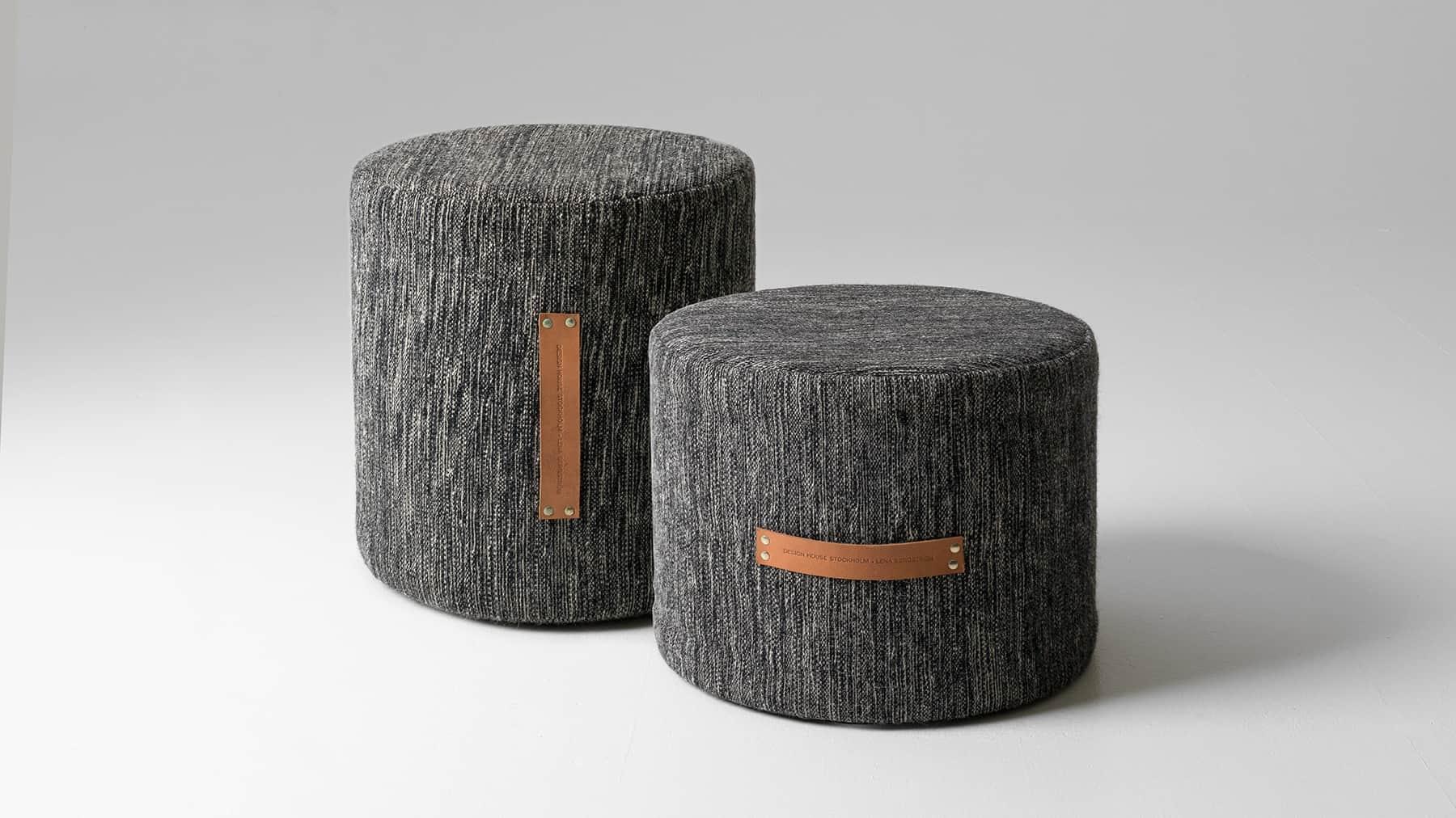 50 cutest poufs for modern living rooms indoor and outdoor. Black Bedroom Furniture Sets. Home Design Ideas