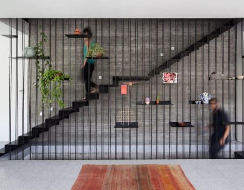 15 Geometric Staircase Designs