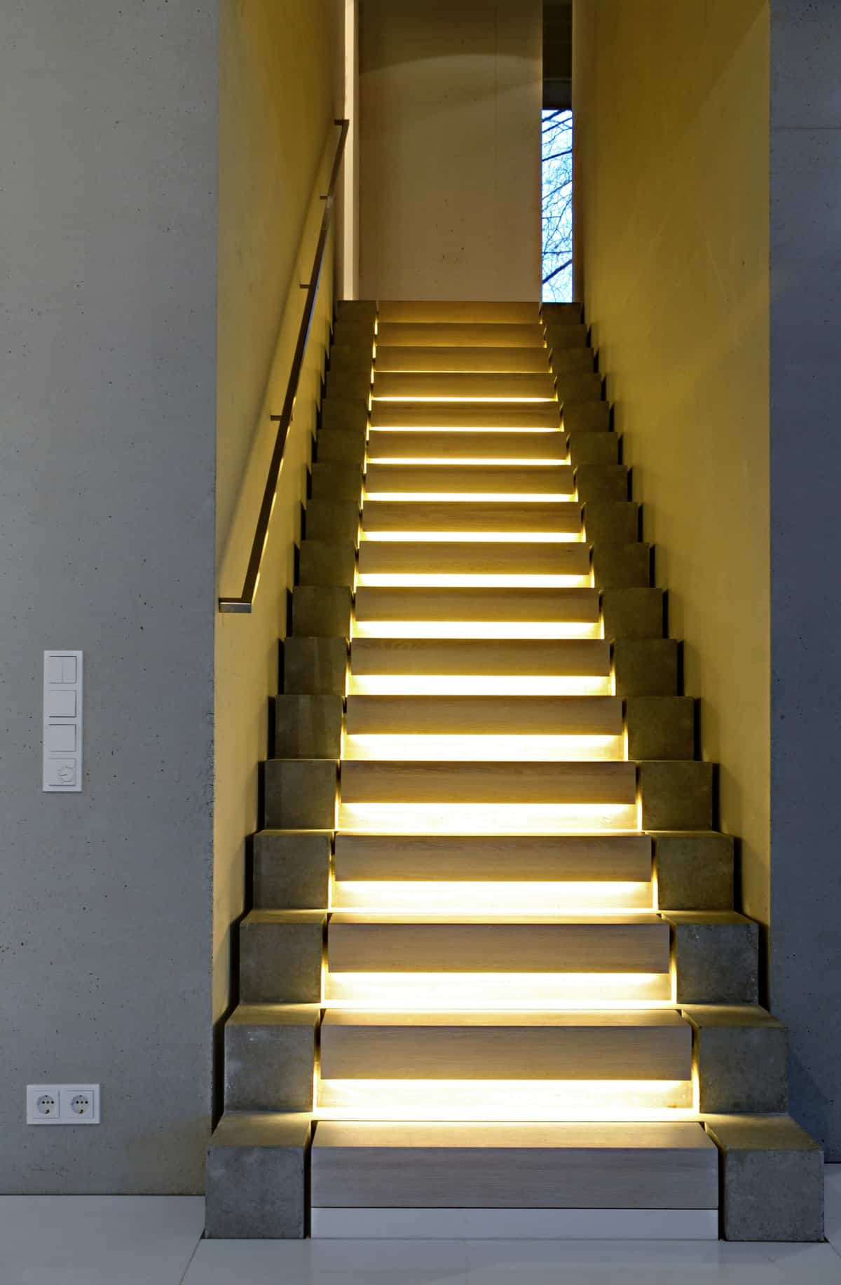 Staircase Designs 15 Geometric Staircase Designs