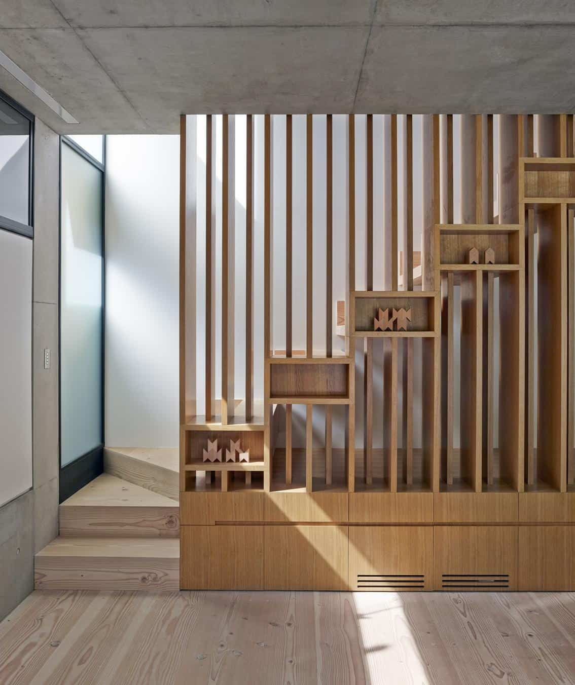 14 Staircases Design Ideas: 15 Geometric Staircase Designs