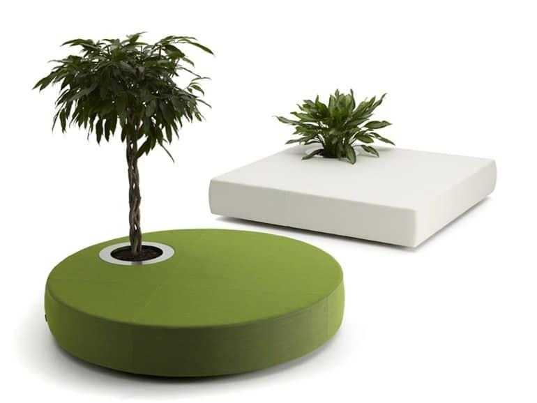 50 cutest poufs for modern living rooms indoor and outdoor - Jardineras modernas ...