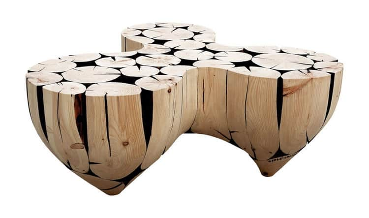Awesome Coffee Table Its Like A Set Of Drums