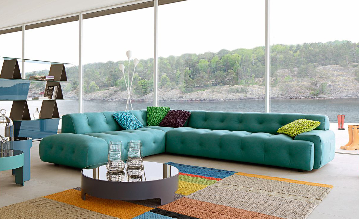 Blogger Large 3-Seat Sofa by Roche Bobois