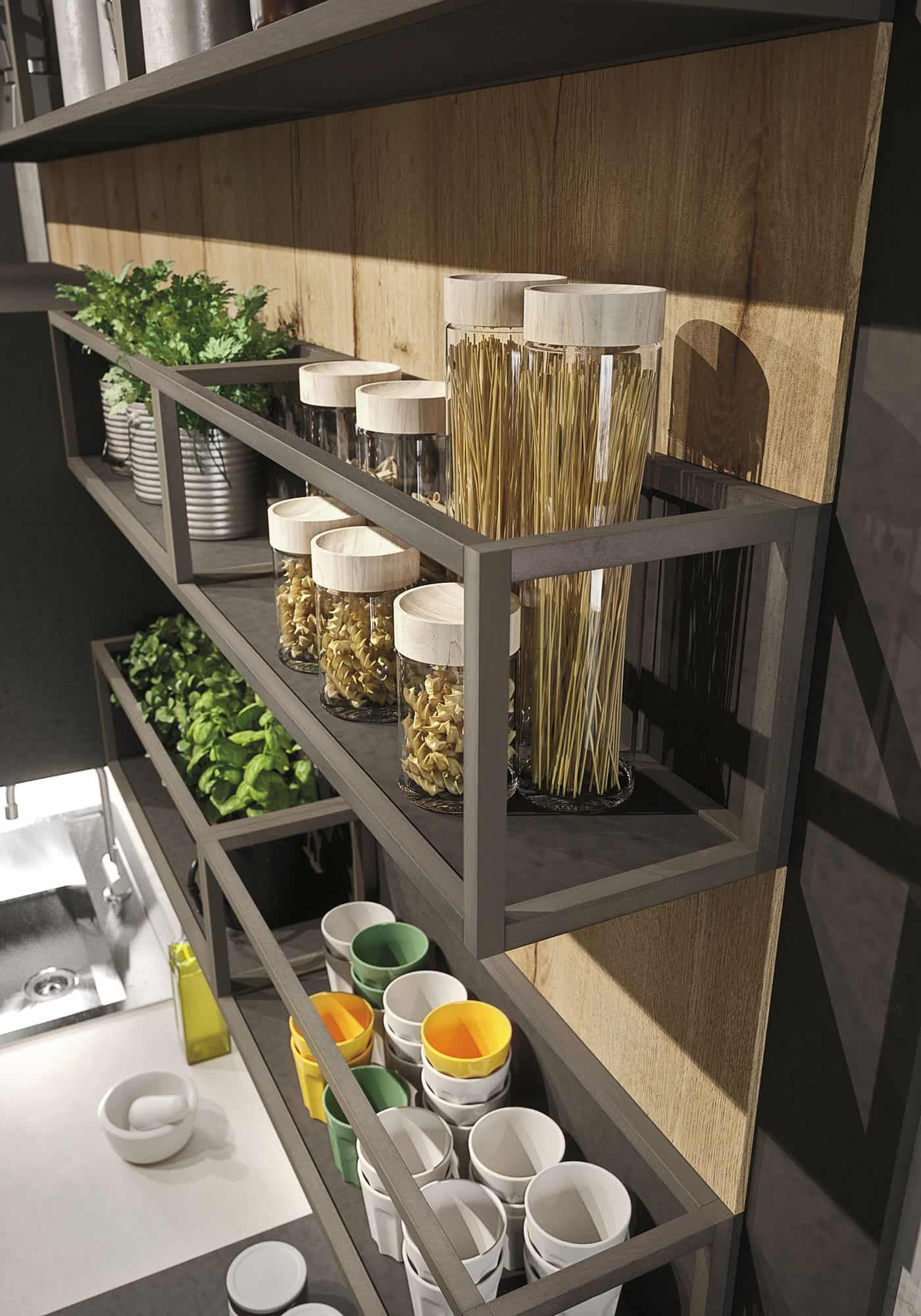 Kitchen Shelf Designs Images
