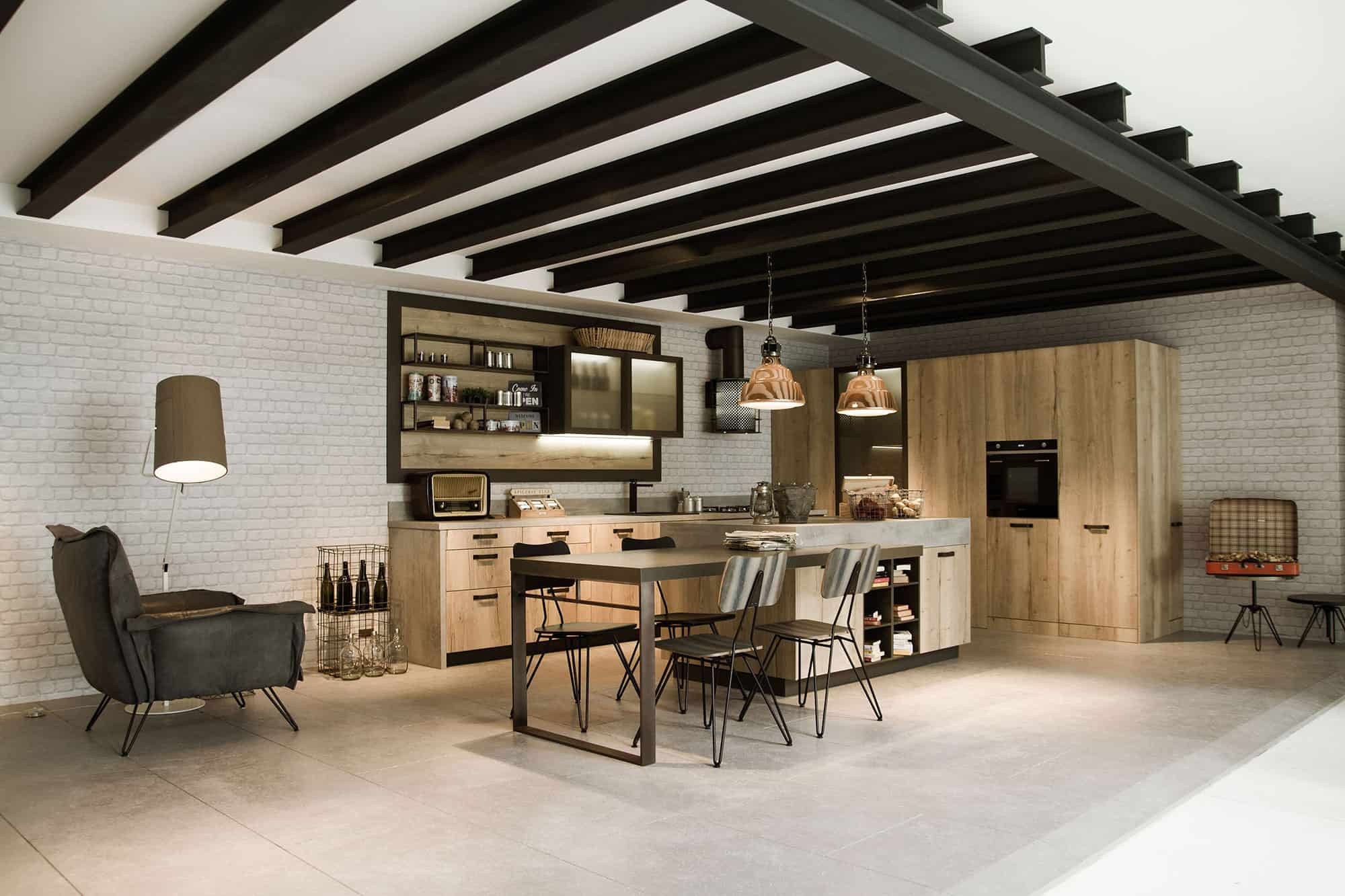 Loft Kitchen Ideas Awesome Kitchen Design For Lofts 3 Urban Ideas From Snaidero