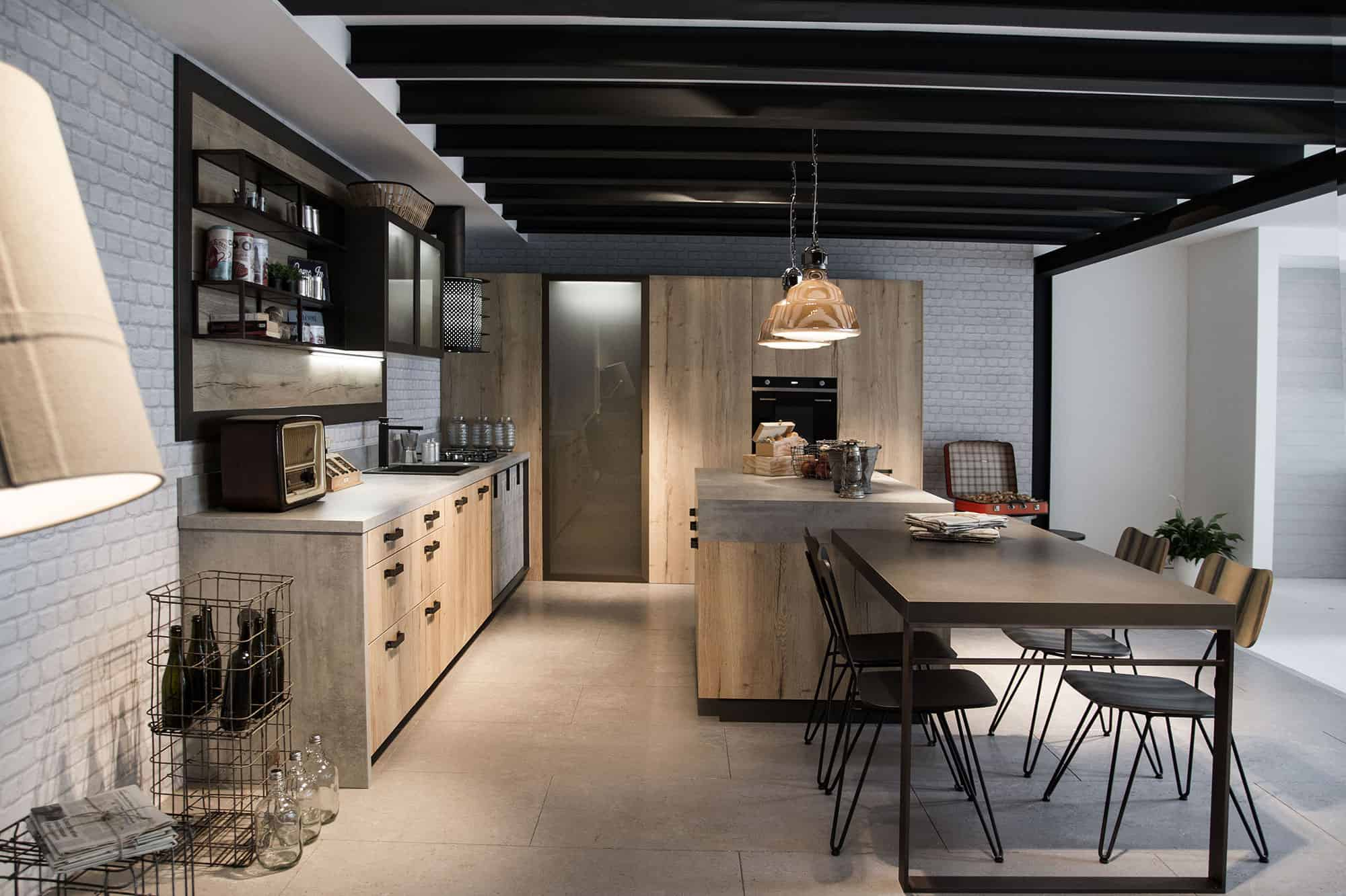 Urban Industrial Kitchen Design