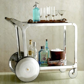 12 Bar Cart Designs for Entertaining in Style