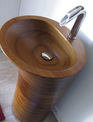 Ellebi Wooden Freestanding Washbasin Bug