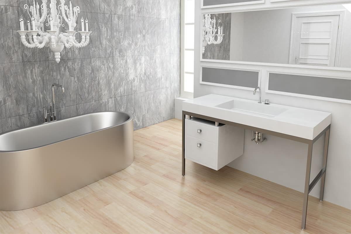 Nice Customizable Modern Vanity Console from Neo Metro
