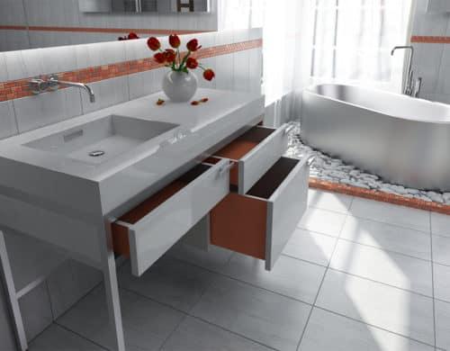 Vanity Consoles for Bathrooms: Modern, Vintage, Art Deco