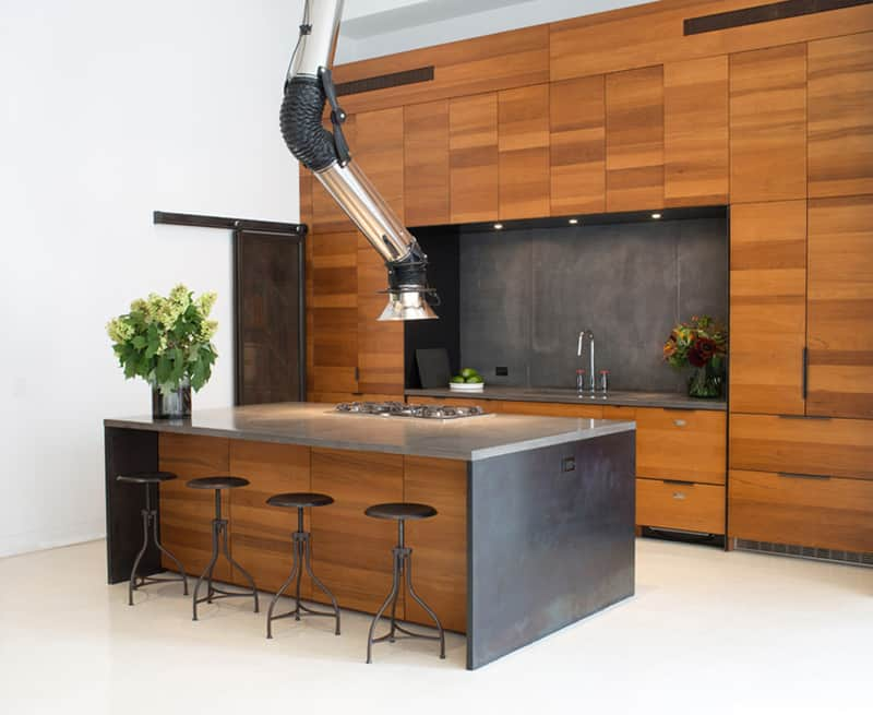 This Second Example Of A Space Age Stove Hood Was Designed By Studio DB  Because The Ceilings Where So High. It Is Not An Actual Stove Hood But  Rather A ...