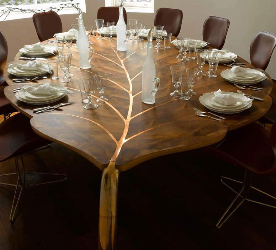 View In Gallery Leaf Inspired Table Design Jpg Tree Inspired Furniture 20 Stunning  Designs