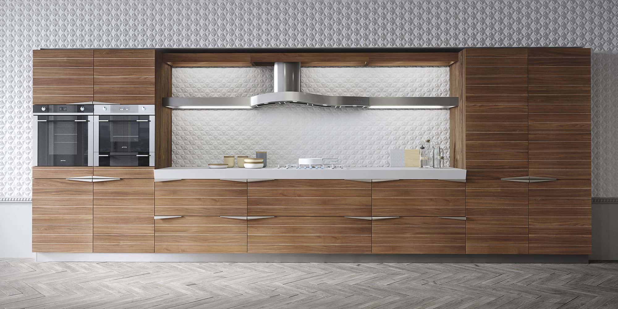 Time Kitchen by Snaidero in Timeless Teak