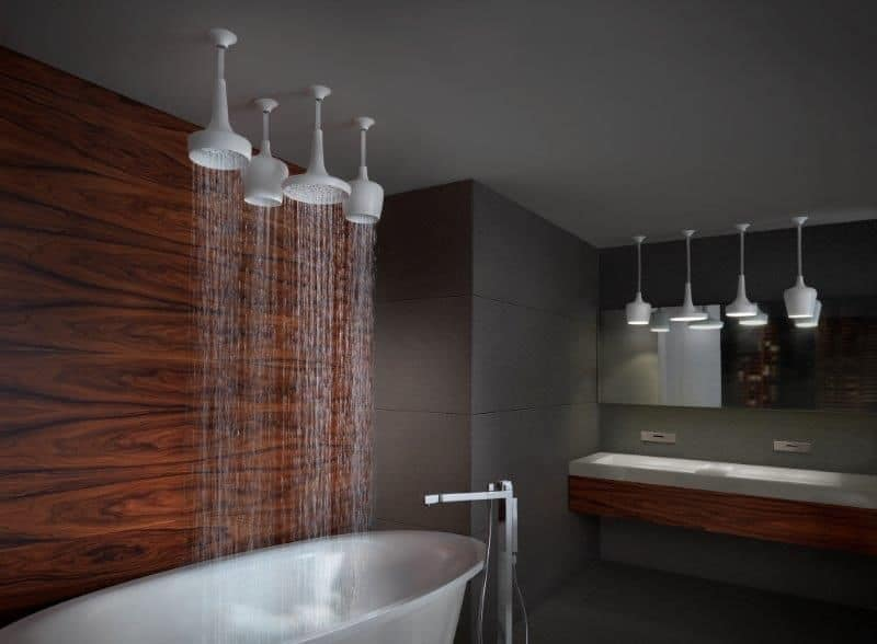 View in gallery  Best Rain Shower Heads for Modern Eco Friendly Bathrooms
