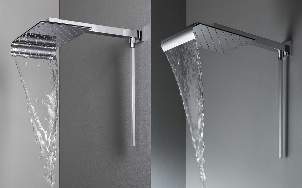 View In Gallery Wall Mounted Rain Shower Head ...