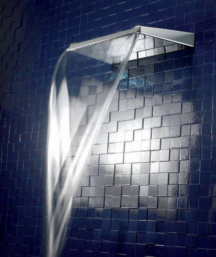 Best rain shower heads for modern eco friendly bathrooms Water coming through ceiling from bathroom