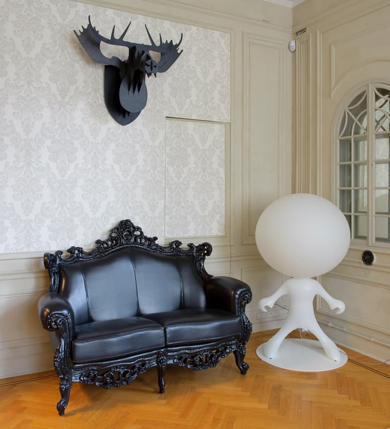 unusual living room furniture. Interesting Furniture There Is Something About An All Black Traditional Design That Makes It A  Little Bit Of Bad A Design The Baroque Silhouette And Leather Upholstery The  On Unusual Living Room Furniture