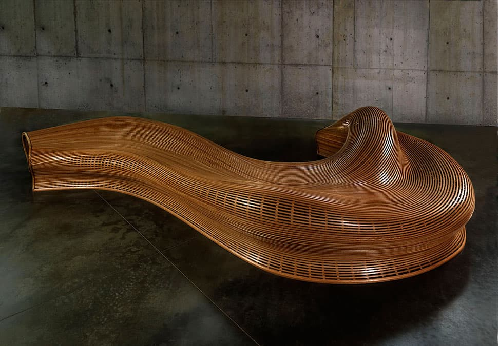 Unusual indoor benches 25 unique wooden designs for Interesting couches