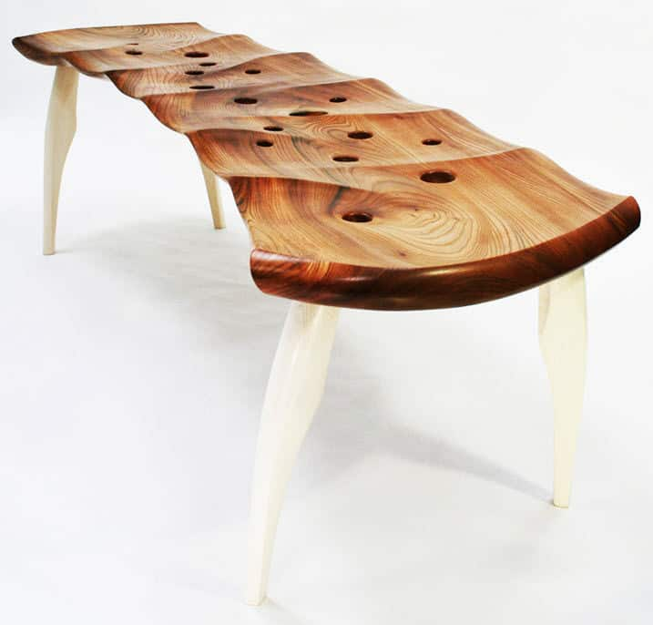 Unusual Indoor Benches 25 Unique Wooden Designs