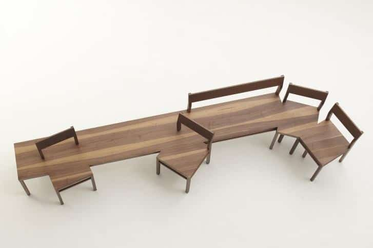 Unusual indoor benches unique wooden designs