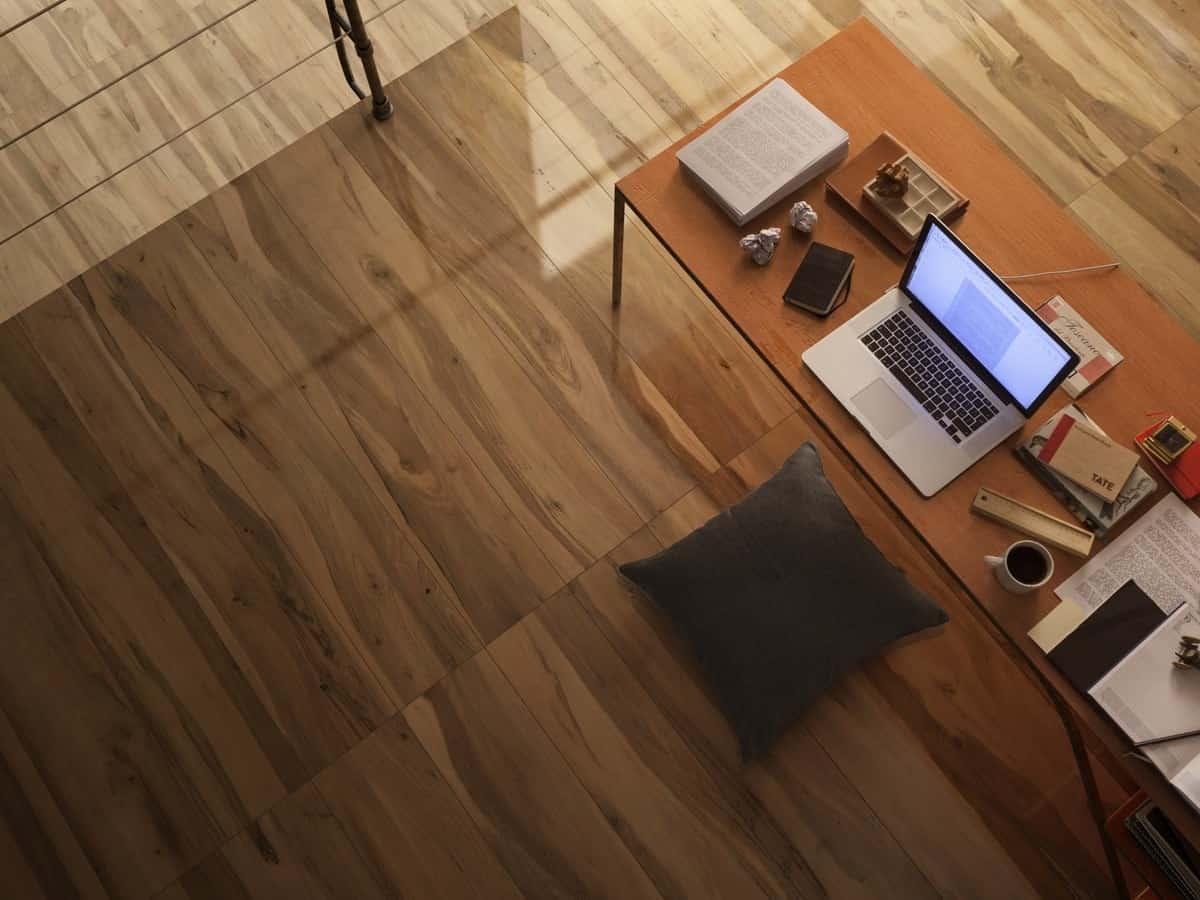 Wood effect tiles for floors and walls 30 nicest porcelain and exotic woods have such a rich aesthetic as do their digitally reproduced tile counterparts dont you just love how these exotic wood looking floor tiles dailygadgetfo Gallery
