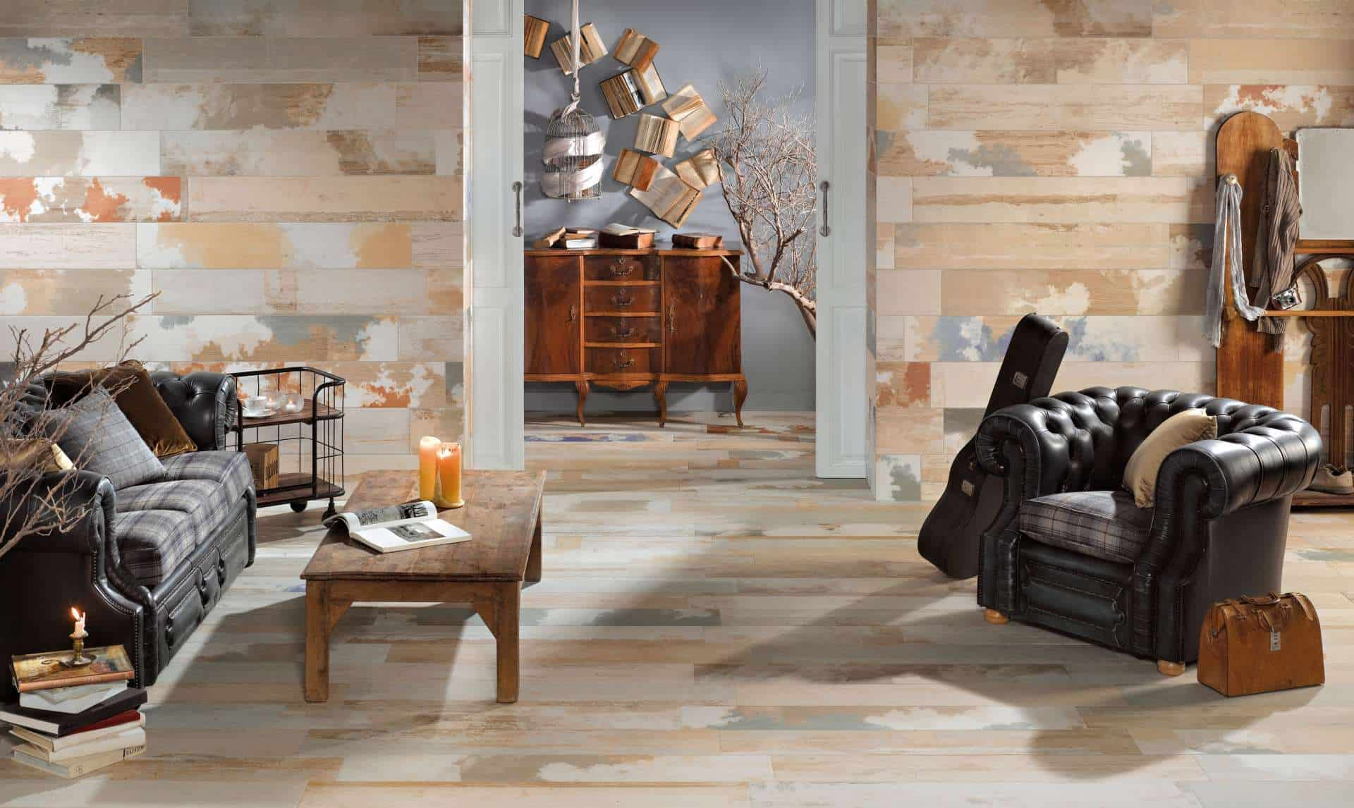 living room wall tiles design. View in gallery  Wood Effect Tiles for Floors and Walls 30 Nicest Porcelain