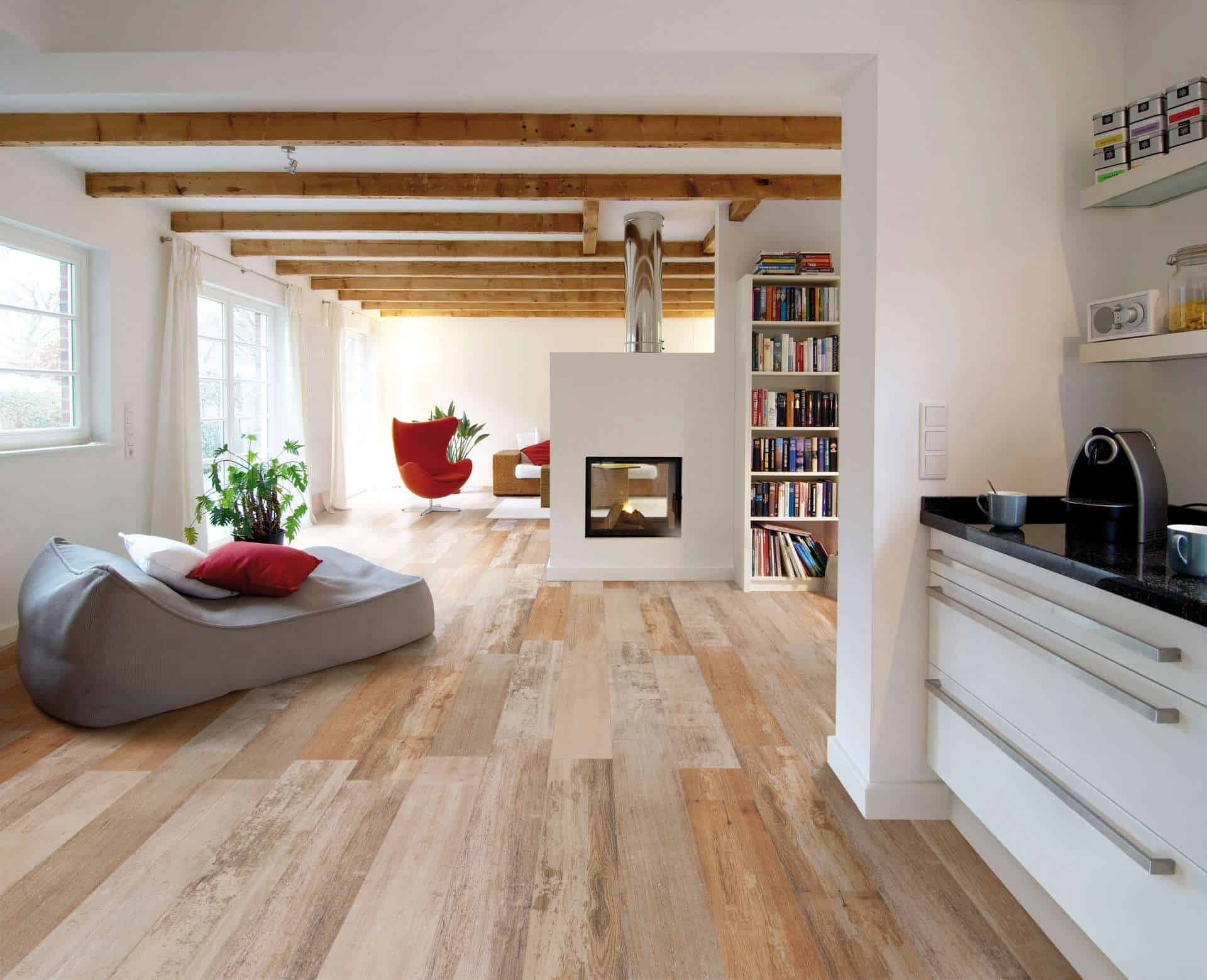 Wood effect tiles for floors and walls 30 nicest porcelain and view in gallery dailygadgetfo Images