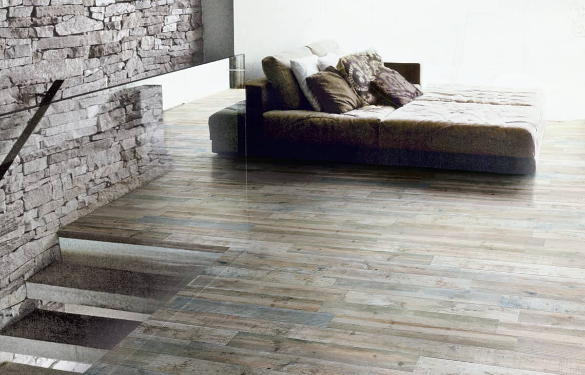 Wood effect tiles for floors and walls 30 nicest porcelain and view in gallery porcelain floor tiles with wood effect silceramiche shabby dailygadgetfo Images