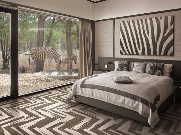 Ceramic Tile Flooring Bedroom Home Furniture Design