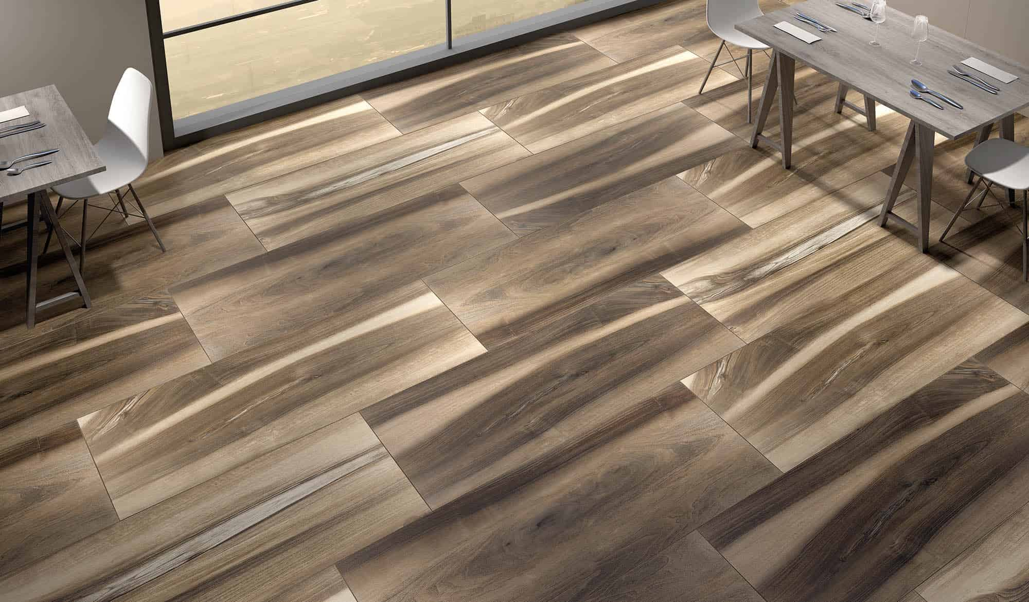 Wood effect tiles for floors and walls 30 nicest porcelain and view in gallery dailygadgetfo Gallery