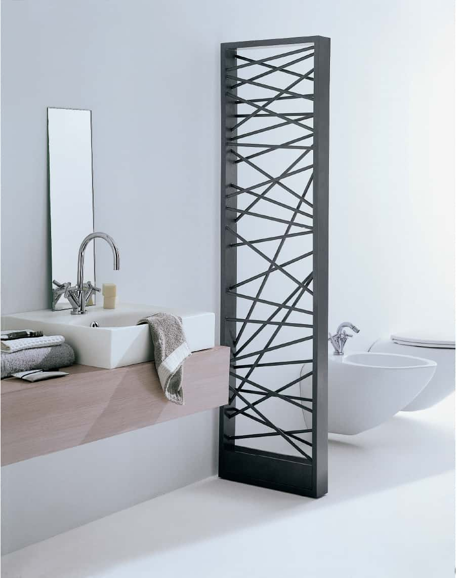 Best of modern home radiators and towel warmers for a for Stylish house dividers