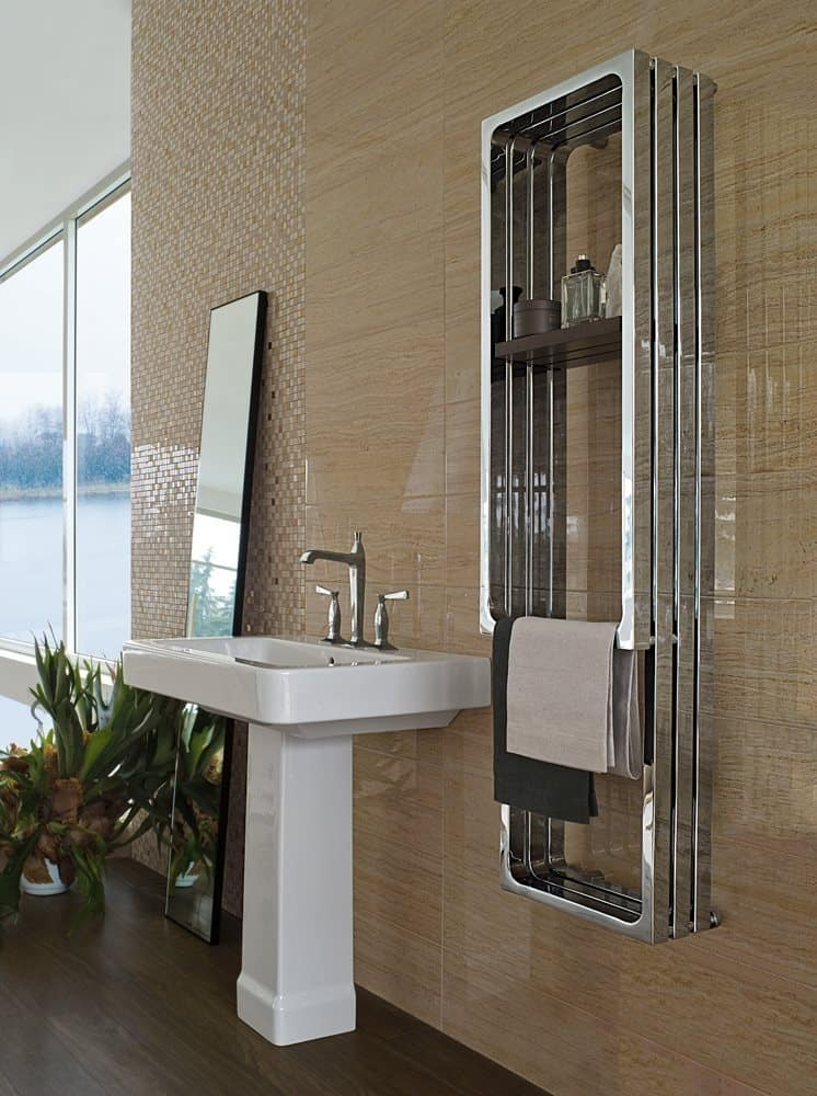 Freestanding Bath Towel Rack