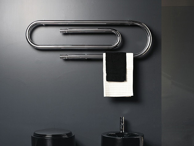 paper clip design towel warmer graffe scirocco 4